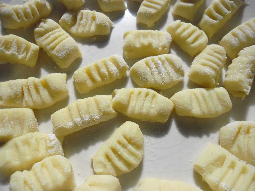 Ñoquis de patata Receta italiana